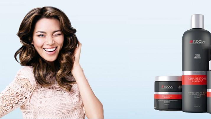 Kera Restore Indola: cabello sano con Keratina