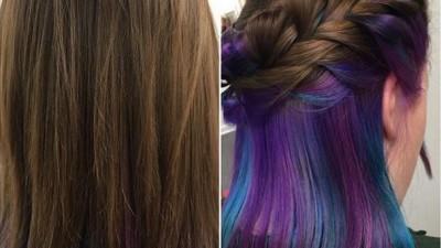 Underlights, el estilo de cabello más sorprendente
