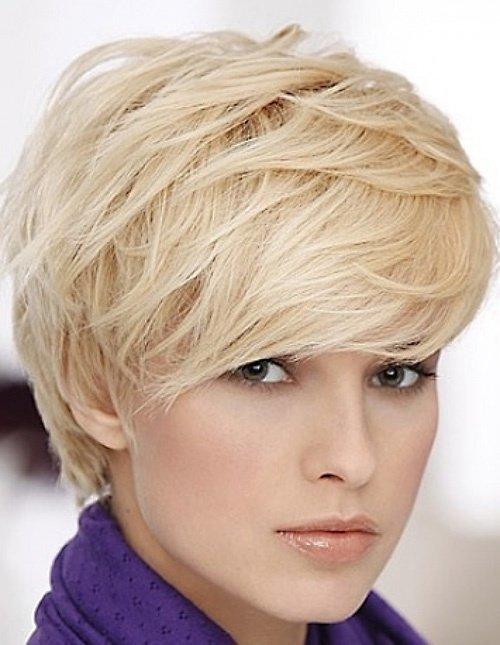 corte cabello corto flequillo largo