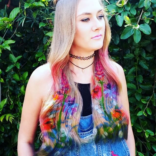 hair stencil estilo 2016