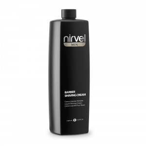 barber shaving cream nirvel cuidado barba y bigote