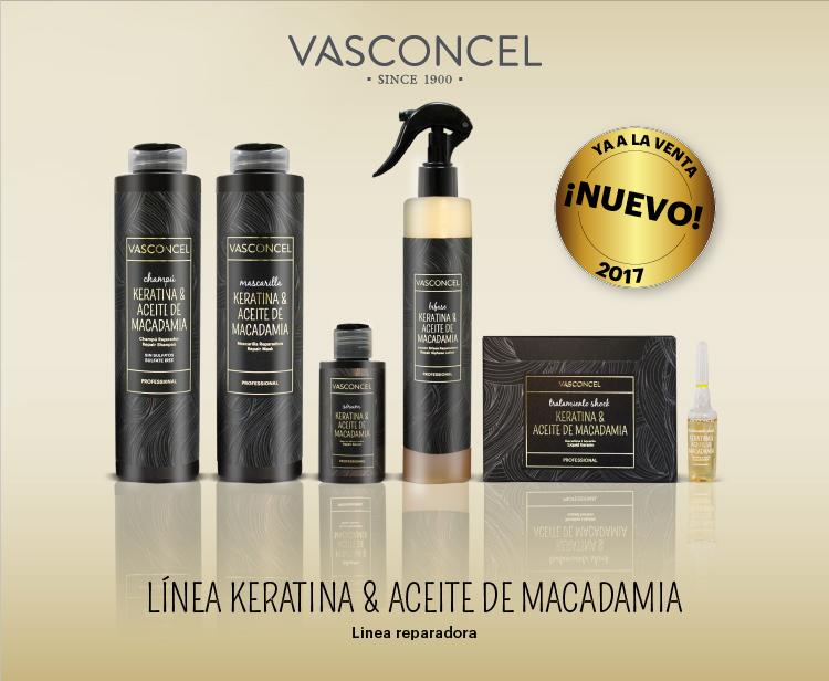 Línea Keratina & Aceite de Macadamia de Vasconcel