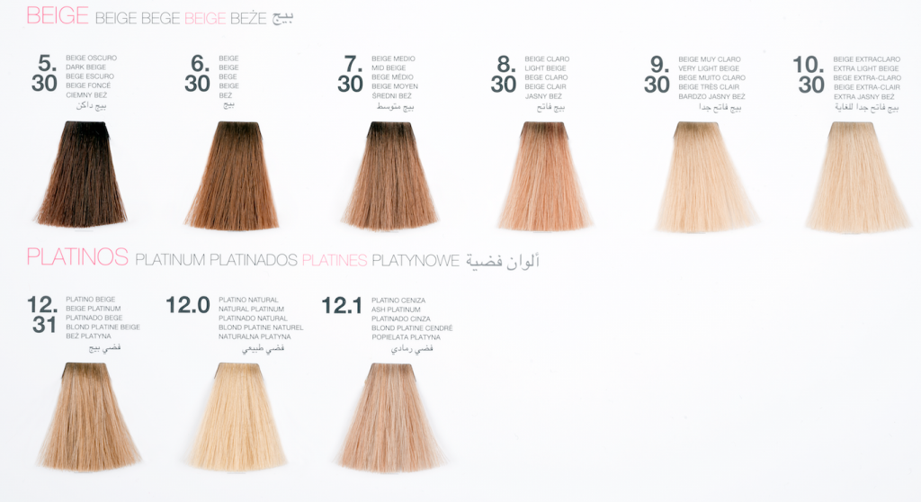 guia de color de cabello 2017 glossco professional