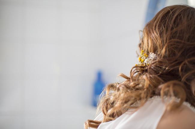 peinados de novias 2018 complementos para el cabello