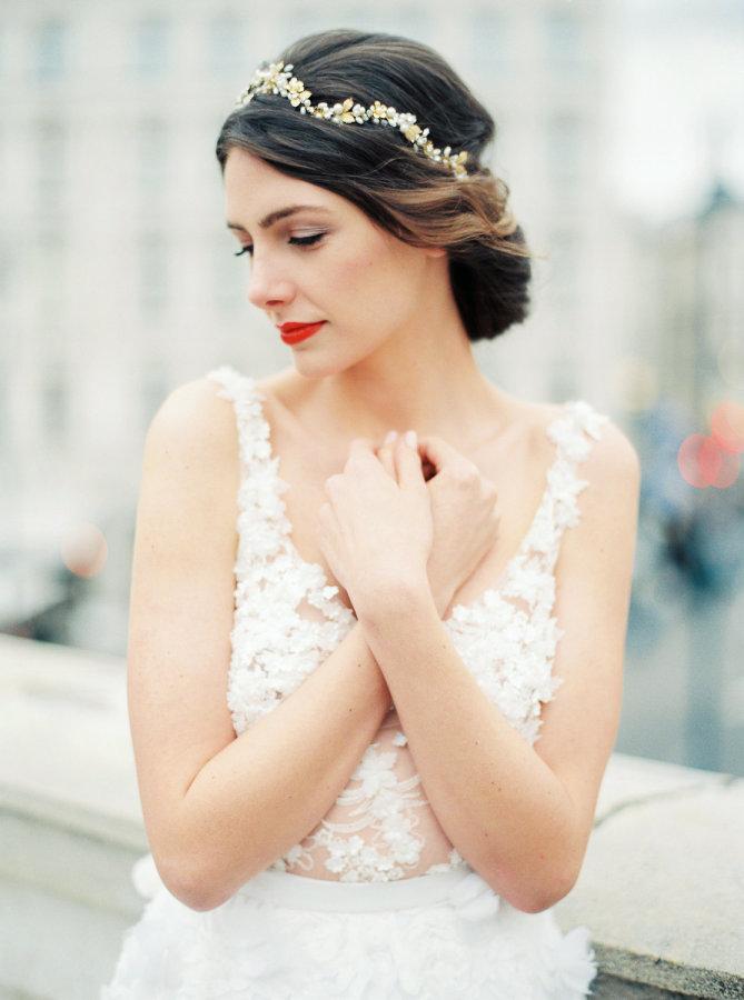 peinados de novias 2018 hair contouring