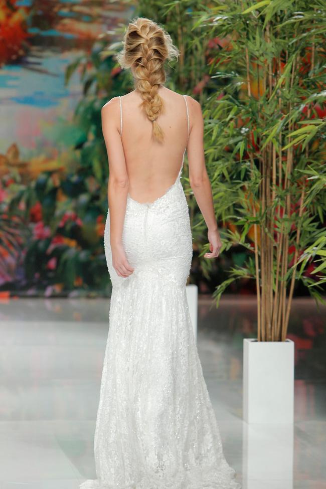 peinados de novia 2018 cabello natural