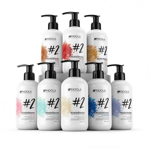 productos de peluquería colorblaster de indola
